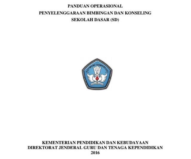 Panduan Penyelenggaraan Bimbingan Konseling SD Format PDF dari DITJEN GTK