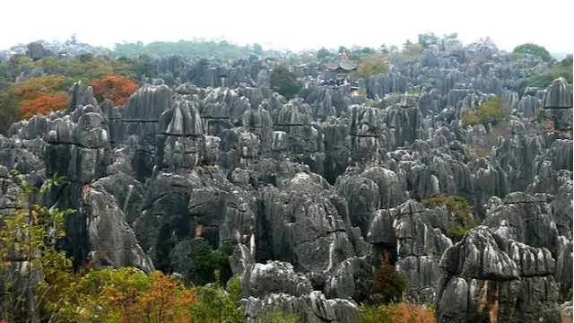 The Stone Forest, China