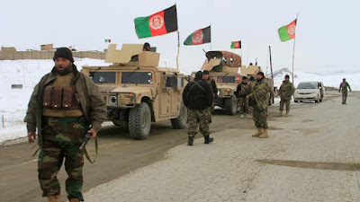Afghan security forces were killed