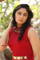 Telugu Actress Zahida Sam Latest Pos in Red Gown at RF Films New Movie Opening  0097.JPG