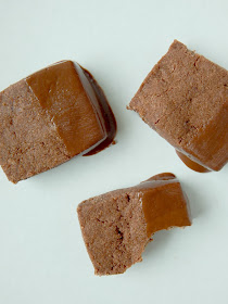 Cocoa Shortbread Bites...just 6 ingredients and this will be the hit of your holiday platter! (sweetandsavoryfood.com)
