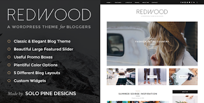 Redwood WordPress Theme Free Download
