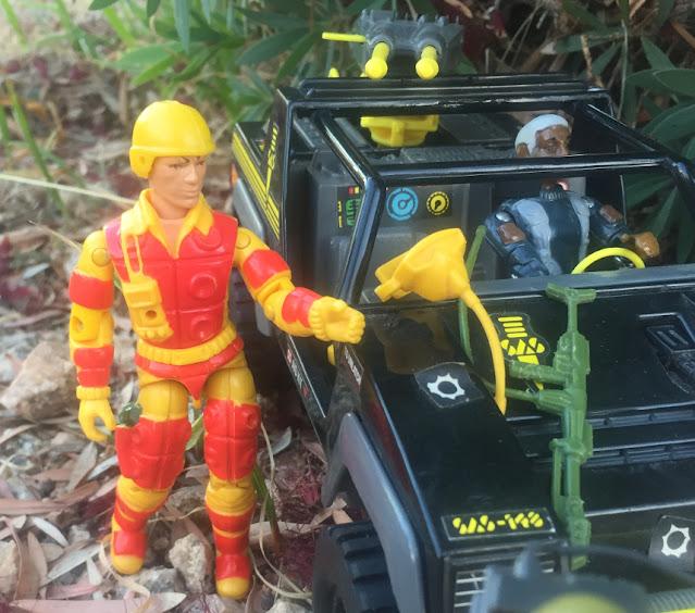 Tocha, Estrela, Brazilian Blowtorch, 1984, Action Force, Panther, VAMP