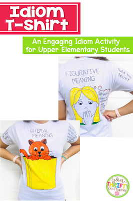Engage your students with these fun idiom activities for 5th grade. #fifthgrade #figurativelanguage
