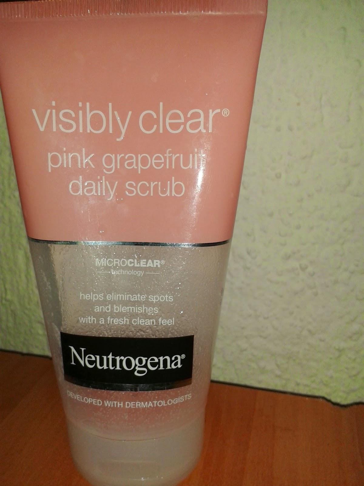Neutrogene Pembe Greyfurtlu Daily Scrub