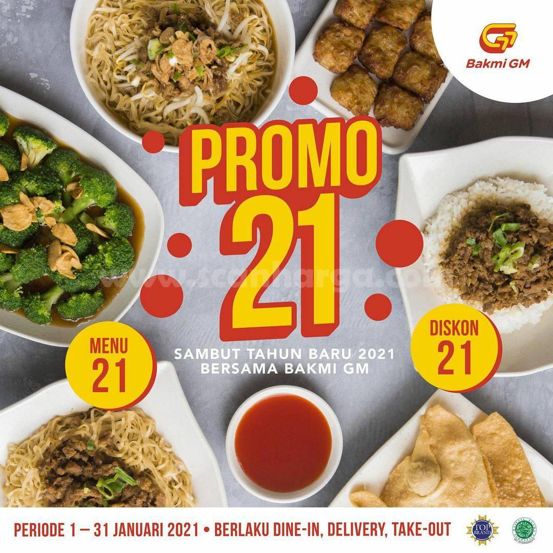 Promo BAKMI GM Terbaru – harga Spesial Paket Menu 21 & Diskon 21