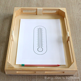Fill in the Blanks Thermometer