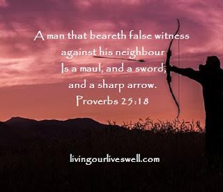 Proverbs 25:18