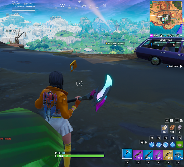 Collect the Visitor recording on the Floating Island and in Retail Row