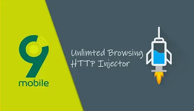 9Mobile Unlimited Free Browsing With HTTP Injector