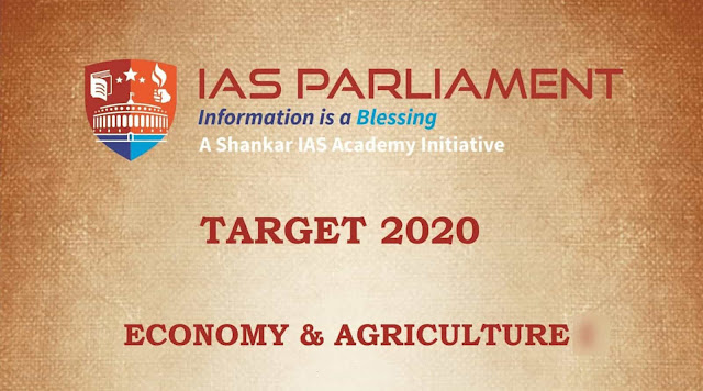 Economy and Agriculture II
