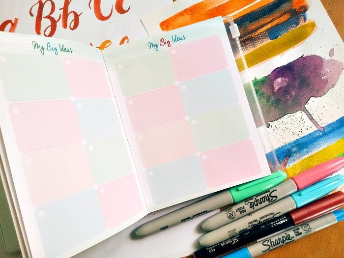 2016 Belle De Jour Petit Planner
