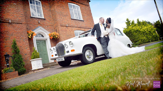 Wedding Photography by Neil at Picture Box -The Barns Hotel Wedding Photographer, Blooms Menswear, St Lukes Cannock, David Bridal Boutique, Platinum Cars