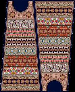 Traditional Women Box Kurti Design - 2758