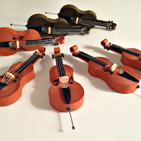 quilled cellos DIY