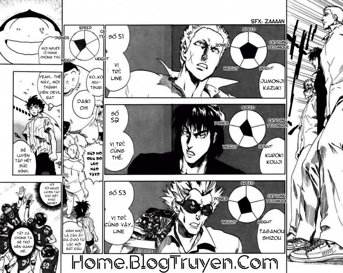 Eyeshield 21 chapter 77 trang 18