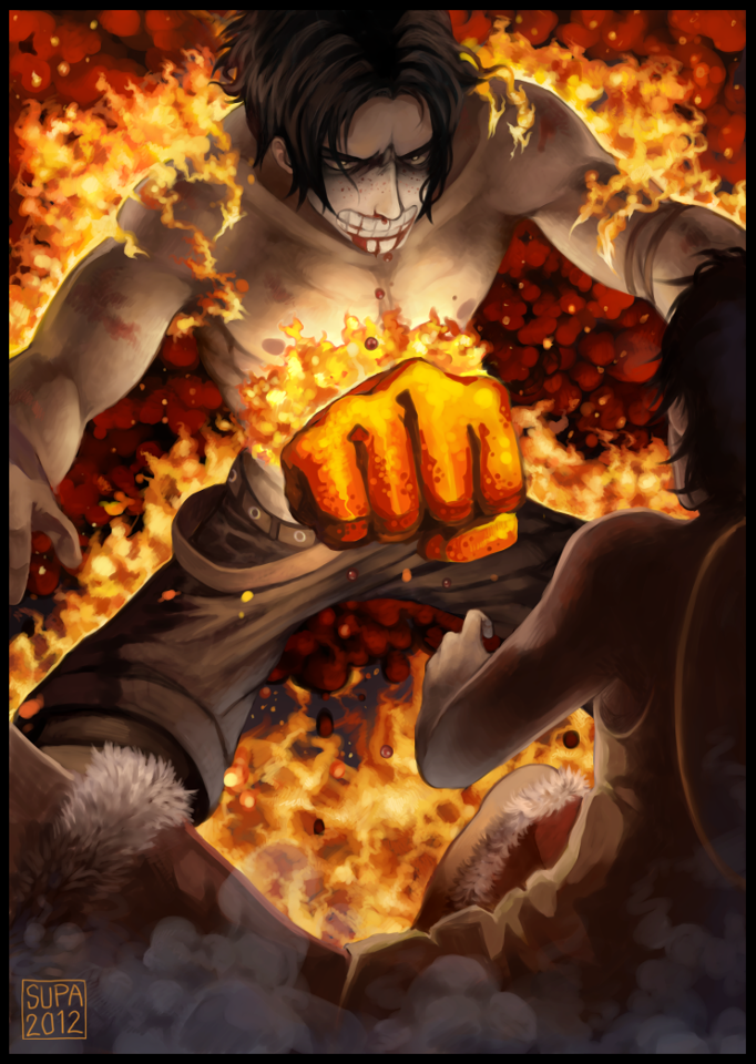 Luffy Hd Wallpaper For Android Fire Fist Ace 5 Fan Arts And Wallpapers Your Daily Anime