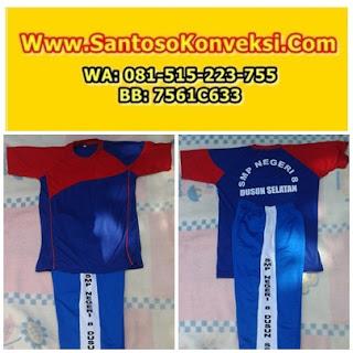 Jual Kaos Seragam Olahraga SMP-MTs