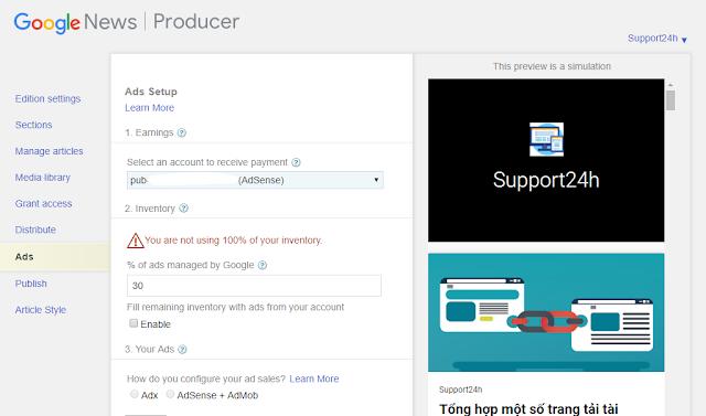 Cách đăng ký Website của bạn với Google News