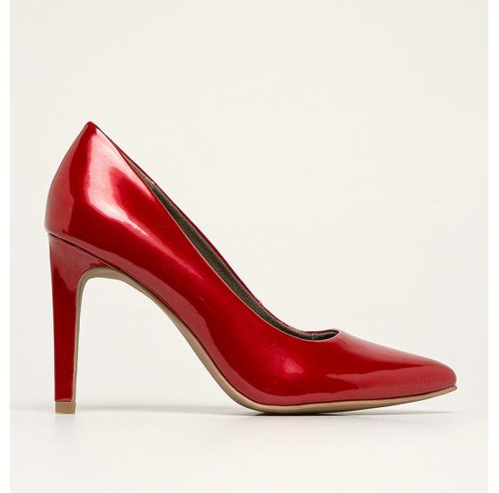 Marco Tozzi - Pantofi cu toc rosii eleganti ieftini