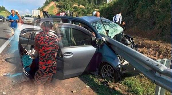 4 Maut termasuk tiga wanita terlibat kemalangan ngeri