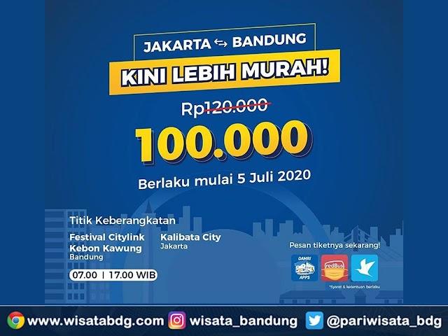 Jadwal dan Harga Tiket Terbaru Bus DAMRI Bandung - Epicentrum Walk Kuningan Jakarta Bulan Juli 2020