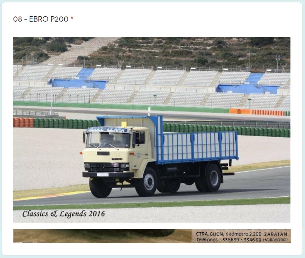 colección camiones y autobuses españoles