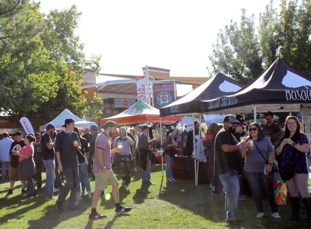 The New Mexico Brew Fest has been ranked one of the 10 Best Fall Beer Festivals in the USA.