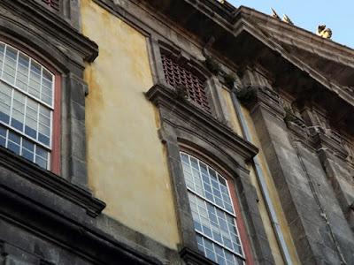 Fachada da antiga Cadeia da relação do Porto