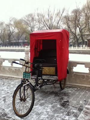 Beijing trishaw