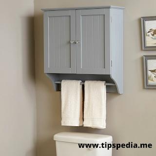 gray bathroom wall cabinet
