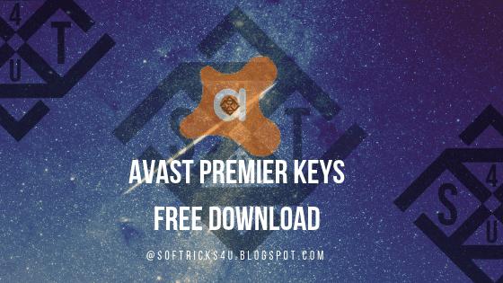 Avast premier antivirus keys