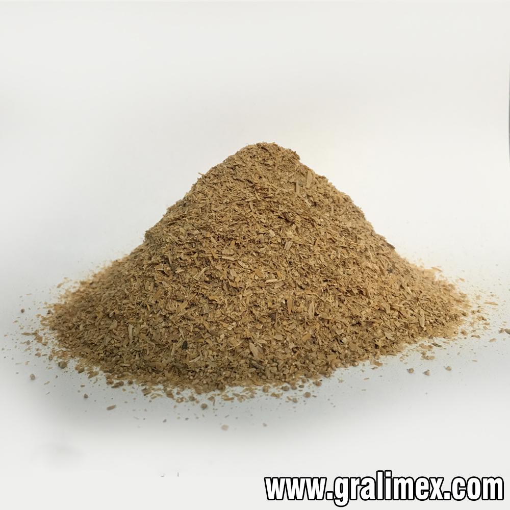 CRUSHED RICE HUSK