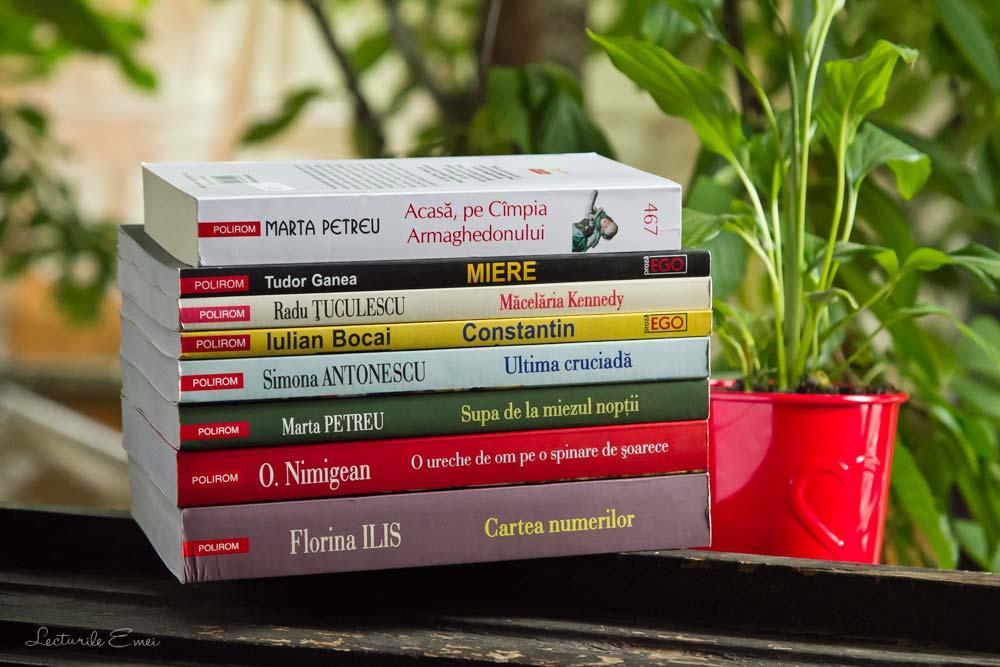 cărți Polirom autori români