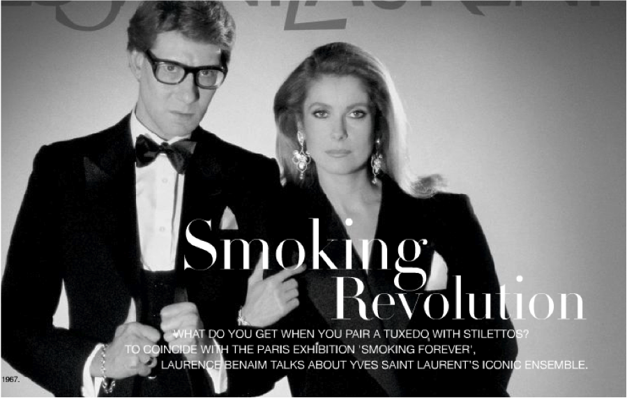 Saint Laurent: Smoking Forever