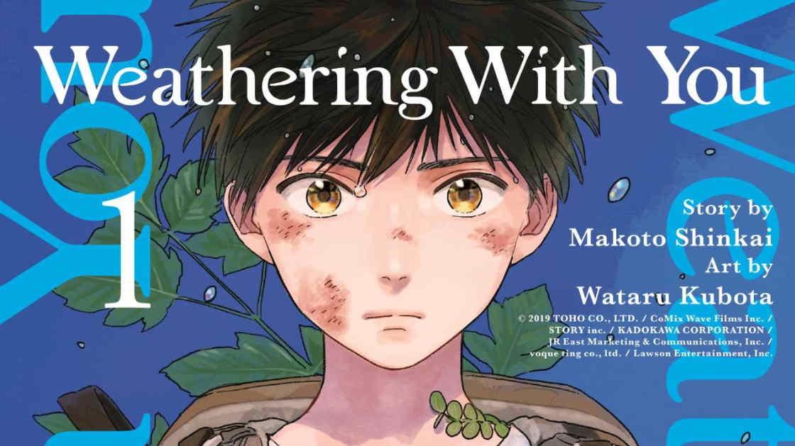 Manga Weathering With You Berakhir di Volume ke-3 di bulan Oktober