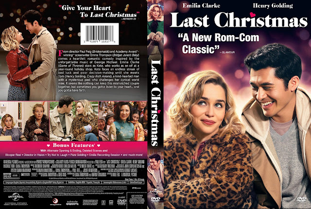 Last Christmas DVD Cover
