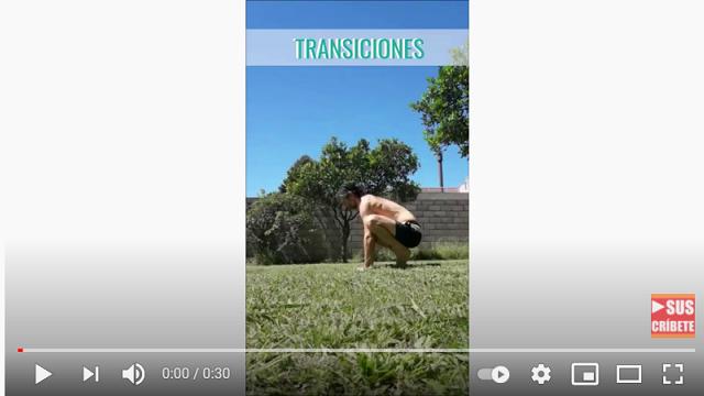 Video: Transiciones | Cuervo - Murciélago - Paro de Cabeza
