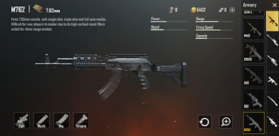 M762 - 4 Assault Rifle Favorite Umat PUBG