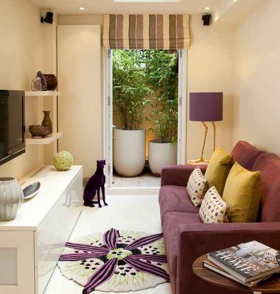 Small Living Room on Cheap Budget - Home and Garden Ideas
