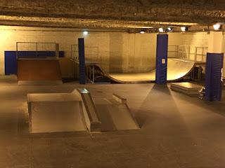 skatepark couvert éclairé neuilly plaisance