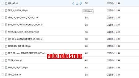 File Pit dành cho Máy Samsung alt
