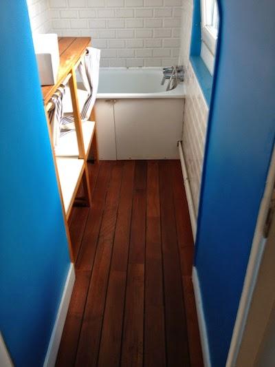 diy une douche sur mesure la clamartoise. Black Bedroom Furniture Sets. Home Design Ideas