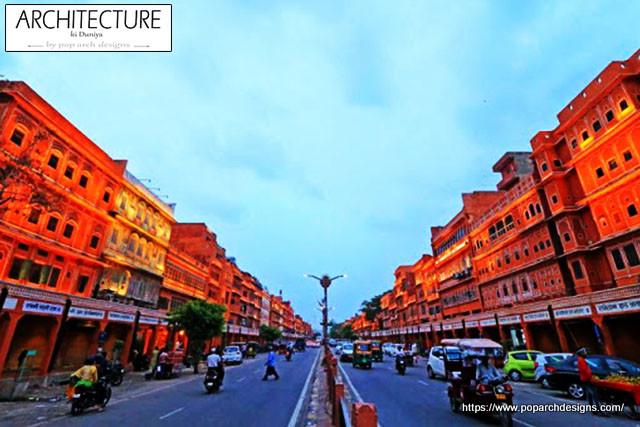 jaipur pink city view