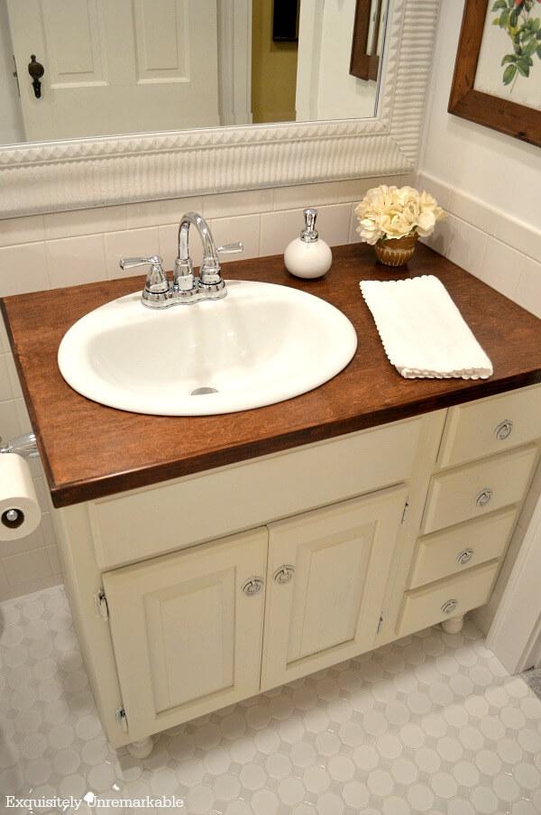 How To Create A Romantic Country Farmhouse Bathroom Vanity