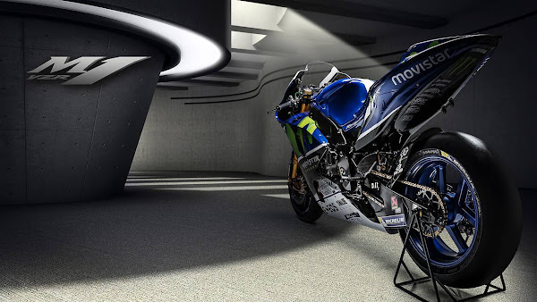 Yamaha YZR-M1 2016 MotoGP Wallpaper-3