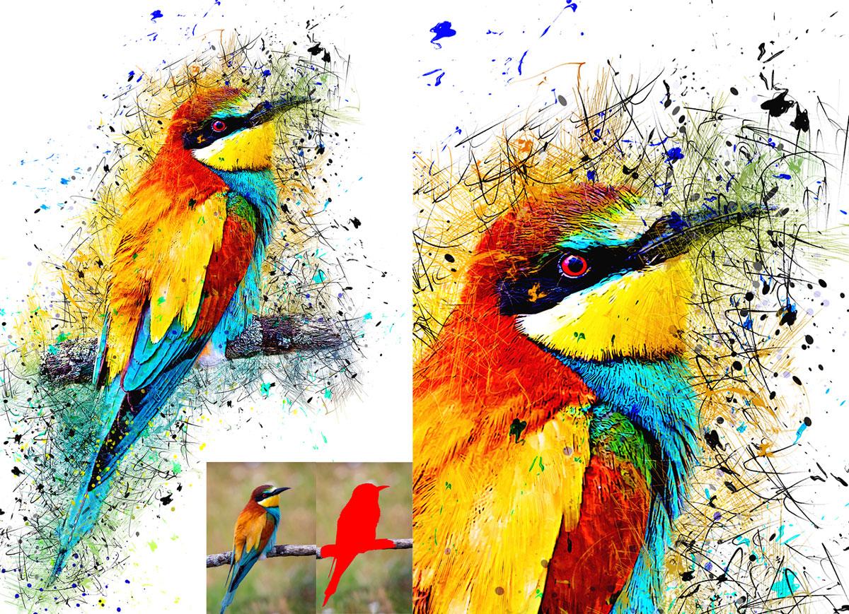 Color Pen Photoshop Action 27021780.