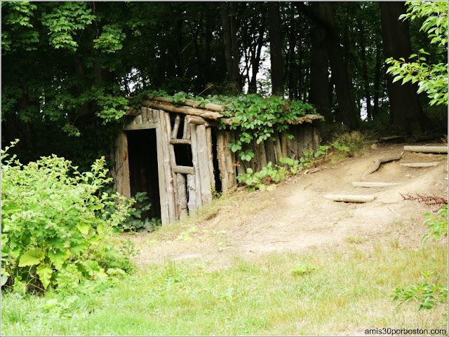 Dugout en Salem Pioneer Village