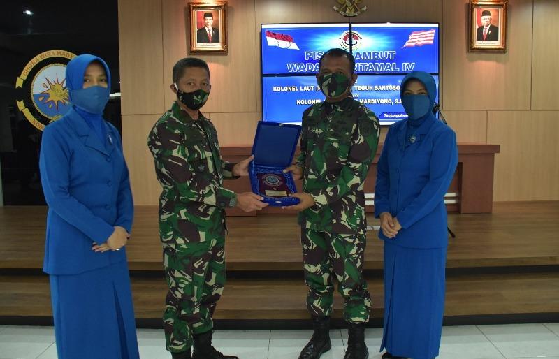 Kolonel Marinir Gatot Mardiyono Resmi Jabat WADANLANTAMAL IV