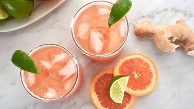 Ginger Beer Paloma Cocktails #drinks #cocktails